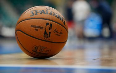 FRISCO, TX - JANUARY 31:  A general view of a ball on the court during the fourth quarter against the Northern Arizona Suns on January 31, 2020 at Comerica Center in Frisco, Texas. NOTE TO USER: User expressly acknowledges and agrees that, by downloading and or using this photograph, User is consenting to the terms and conditions of the Getty Images License Agreement. Mandatory Copyright Notice: Copyright 2020 NBAE (Photo by Tim Heitman/NBAE via Getty Images)