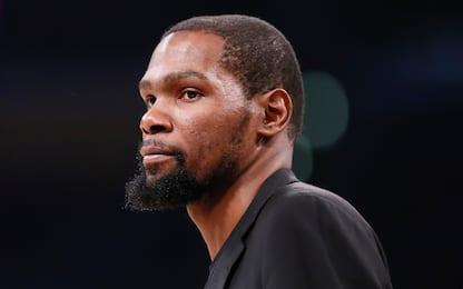 Quattro giocatori dei Nets positivi: uno è Durant