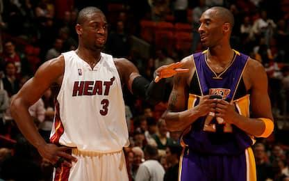 """Wade: """"Kobe e non solo, i miei avversari più duri"""""""