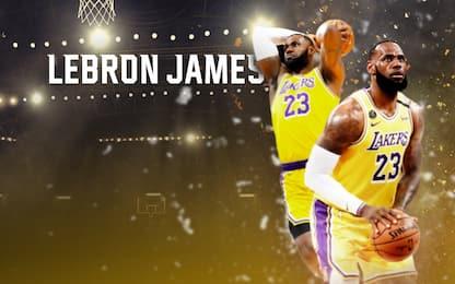 LeBron James, una giornata da Re su Sky Sport UNO