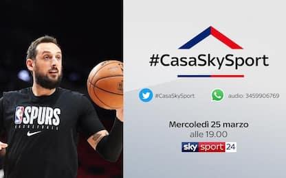 Belinelli a #CasaSkySport: mercoledì 25 alle 19