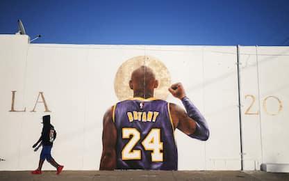 Un anno senza Kobe: il ricordo sui muri di L.A.