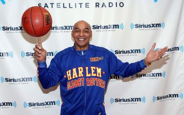 <<visits>> SiriusXM Studio on February 13, 2012 in New York City.