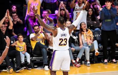 "LeBron James: ""Non mi immagino sport senza tifosi"""