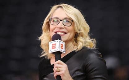 Doris Burke volto di ESPN positiva al coronavirus