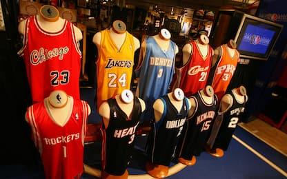 Tanta NBA tra le 50 maglie più belle di sempre