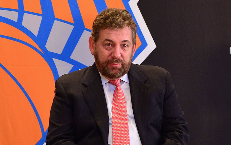 NBA – New York Knicks: il proprietario James Dolan positivo al Coronavirus