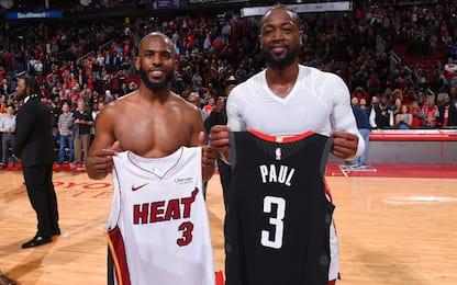 """CP3-Wade mai insieme a Miami: """"Colpa del 3"""". VIDEO"""