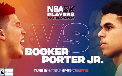 Torneo NBA2K: Booker fa paura, eliminato Mitchell