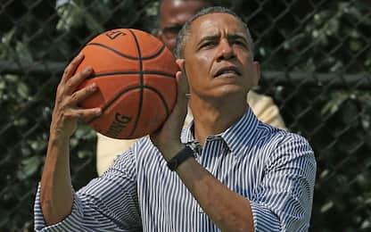 Obama e la partita per festeggiare 50 anni