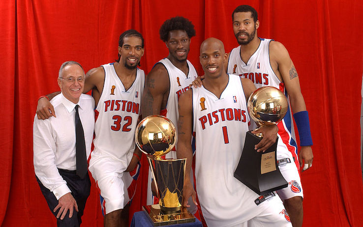 I Detroit Pistons di Larry Brown
