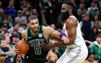 """Tatum: """"Nel 2019 l'MVP doveva essere Harden"""""""