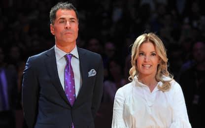 I Lakers chiedono un taglio del 20% ai dirigenti