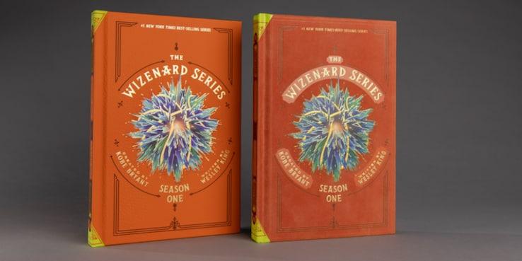 """I primi due libri della serie """"The Wizenard"""""""
