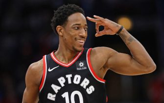CHICAGO, IL - JANUARY 03:    at the United Center on January 3, 2018 in Chicago, Illinois. The Raptors defeated the Bulls 124-115. NOTE TO USER: User expressly acknowledges and agrees that, by downloading and or using this photograph, User is consenting to the terms and conditions of the Getty Images License Agreement. (Photo by Jonathan Daniel/Getty Images)