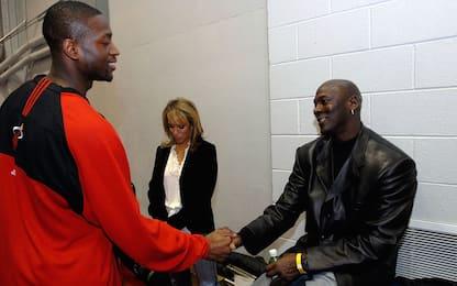 Quella volta che MJ rimase fuori dal party di Wade
