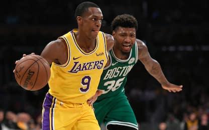 Rondo ai Celtics? La possibile trade con i Lakers