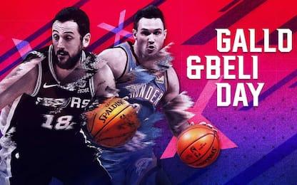"""""""Gallo & Beli Day"""" su Sky Sport NBA: il programma"""