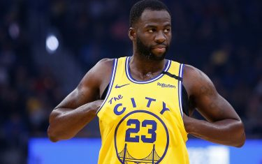 SAN FRANCISCO, CALIFORNIA - JANUARY 24: Draymond Green #23 of the Golden State Warriors looks on in the first half against the Indiana Pacers at Chase Center on January 24, 2020 in San Francisco, California. NOTE TO USER: User expressly acknowledges and agrees that, by downloading and/or using this photograph, user is consenting to the terms and conditions of the Getty Images License Agreement. (Photo by Lachlan Cunningham/Getty Images)