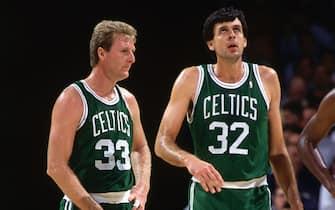 Larry Bird e Kevin McHale