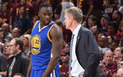 Warriors, le assenze al via preoccupano coach Kerr