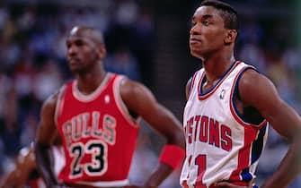 Michael Jordan e Isiah Thomas