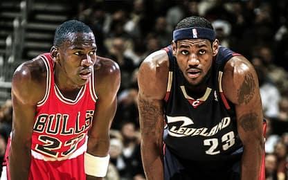"""Barkley: """"Dove LeBron è meglio di Michael Jordan"""""""