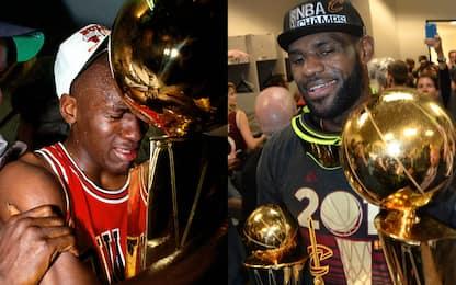 """Rivers: """"MJ ha avuto tempo per crescere LeBron no"""""""