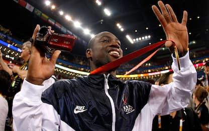 Wade a lavoro su un documentario del Team USA 2008