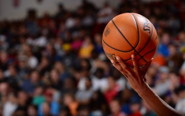 LAS VEGAS, NV - JULY 9: A close-up view of the official game ball during the game between the Miami Heat and the Orlando Magic on July 9, 2019 at the Cox Pavilion in Las Vegas, Nevada. NOTE TO USER: User expressly acknowledges and agrees that, by downloading and/or using this photograph, user is consenting to the terms and conditions of the Getty Images License Agreement. Mandatory Copyright Notice: Copyright 2019 NBAE (Photo by Bart Young/NBAE via Getty Images)