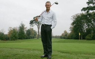 OTTERSHAW, ENGLAND - NOVEMBER 15:  Gary Lineker is announced as the BBC's new face of Golf at a Photocall held at Foxhills Golf Club on November 15, 2005 in Ottershaw, England.  (Photo by Phil Cole/Getty Images) *** Local Caption *** Gary Lineker