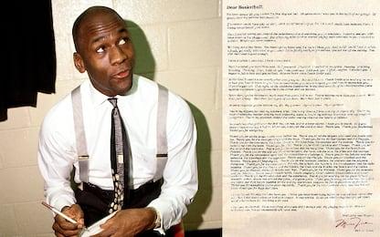 Dear Basketball: la lettera di Jordan al basket