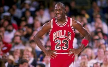1988-1989:  Guard Michael Jordan of the Chicago Bulls in action. Mandatory Credit: Mike Powell  /Allsport