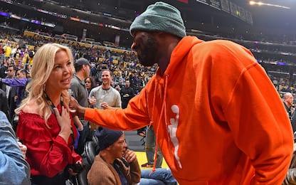 """Jeanie Buss sogna Kobe: """"Così so che sta bene"""""""