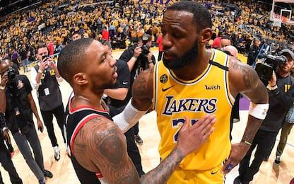 """Lillard è sicuro: """"L'MVP di quest'anno è LeBron"""""""