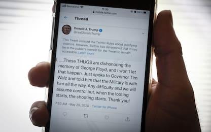 Trump e la sfida a Twitter: la risposta di Kerr