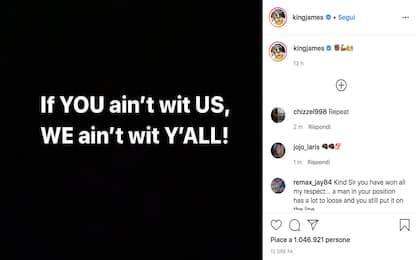 Caso Floyd, LeBron e compagni uniti sui social