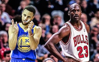 Kerr e il paragone personale tra Jordan e Curry