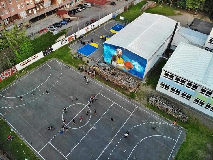 La scuola elementare di Gradiska appena rinnovata