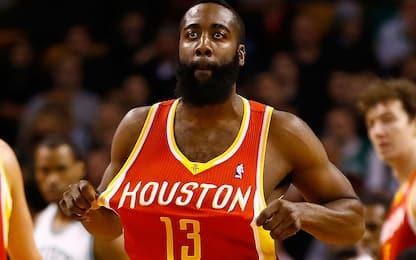 I Rockets ritireranno la maglia n°13 di Harden