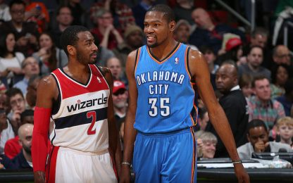 "Wall: ""Durant a Washington? Non c'era una chance"""