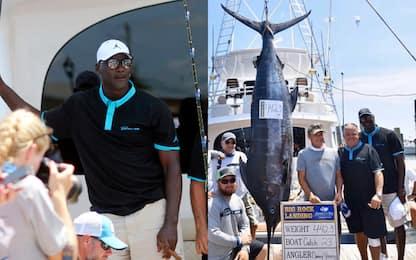 Jordan pesca un marlin da 200 chili ma perde. FOTO