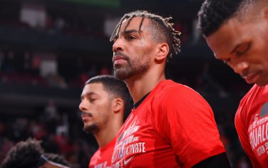 HOUSTON, TX - FEBRUARY 2 : Thabo Sefolosha #18 of the Houston Rockets looks on during the game against the New Orleans Pelicans on February 2, 2020 at the Toyota Center in Houston, Texas. NOTE TO USER: User expressly acknowledges and agrees that, by downloading and or using this photograph, User is consenting to the terms and conditions of the Getty Images License Agreement. Mandatory Copyright Notice: Copyright 2020 NBAE (Photo by Bill Baptist/NBAE via Getty Images)