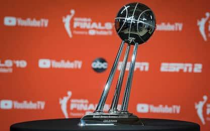 WNBA, si gioca: 22 gare di stagione più i playoff