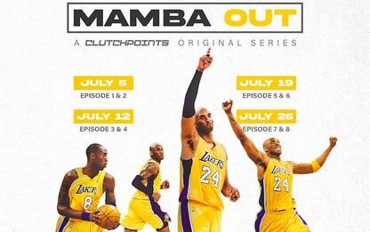 """""""Mamba Out"""": arriva una web series su Kobe Bryant"""