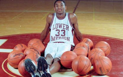 Kobe in campo al liceo: vanno all'asta i filmati