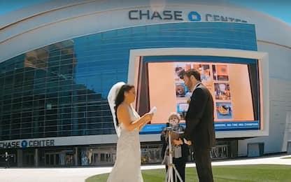 Lindsay, Dustin, e il primo anello al Chase Center
