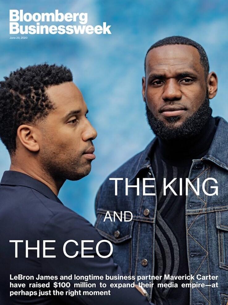 """La copertina di """"Bloomberg Businessweek"""""""