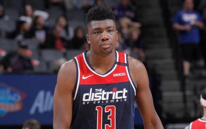 Wizards decimati, fuori altri 2: i positivi in NBA