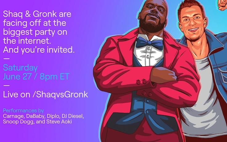 Shaq & Gronk: che coppia